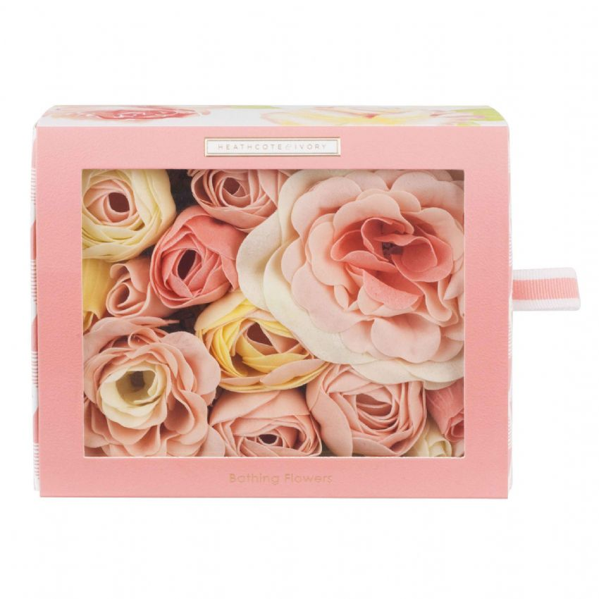 Blush Rose - Floral Bathing Flowers Soap Petals 85g Heathcote & Ivory (1)